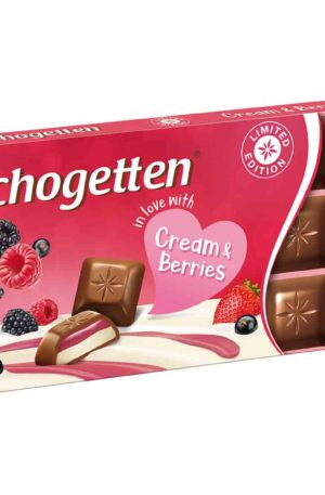 Schogetten Limited Edition Cream & Berries 100g