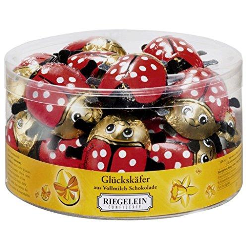 30 x Riegelein Chocolate Ladybirds