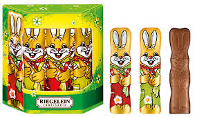 Riegelein Chocolate Easter Bunnies 10 x 12.5g