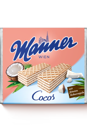Manner Coconut Waffle Biscuits 75g