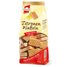Schulte Lemon Waffle Biscuits 175g