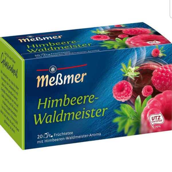 Messmer Raspberry and Woodruff Tea 20 bags