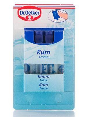 Dr Oetker Rhum (Rum) Aroma 4 x 2ml