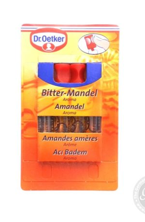 Dr Oetker Bitter-Mandel (Almond) Aroma.4 x 2ml