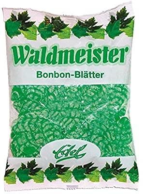 Edel Waldmeister Bonbon Blätter 125g