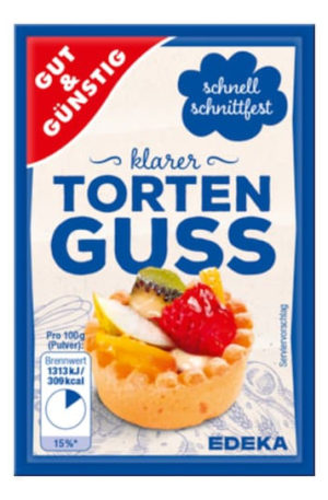 Torten Guss (Clear Cake Glaze) 6 x 12g sachets