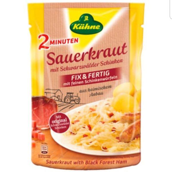 Kühne Saurkraut with Black Forest Ham400g