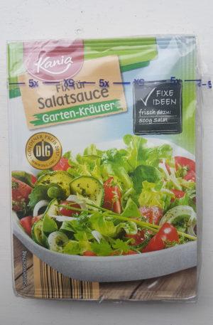 Kania Salad Sauce Fix, Kitchen Herbs 5 X 10g
