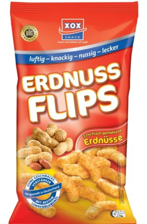 XoX Erdnuss Flips (Peanut Puffs) 200g125g