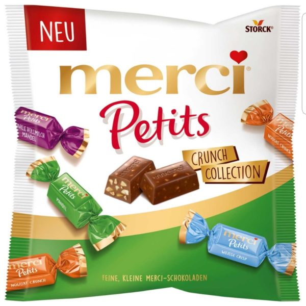 Merci Petits Crunch Collection 125g