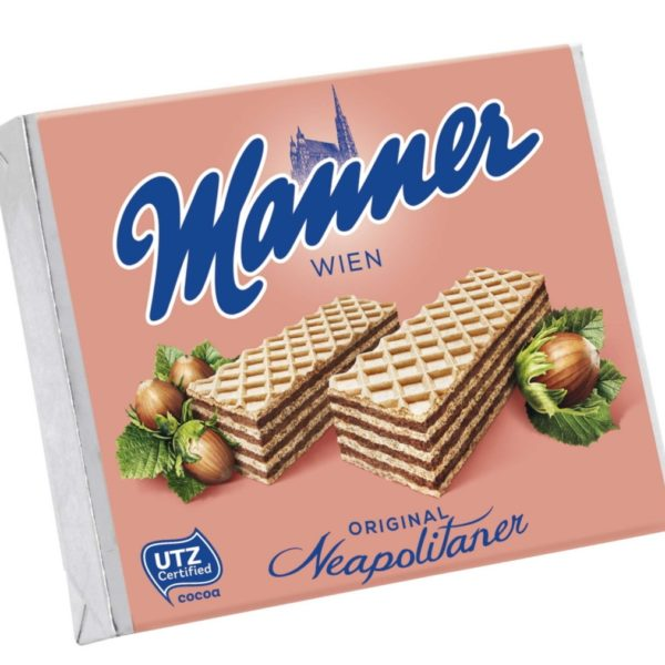 Manner Original Neapolitan Waffle Biscuits 75g