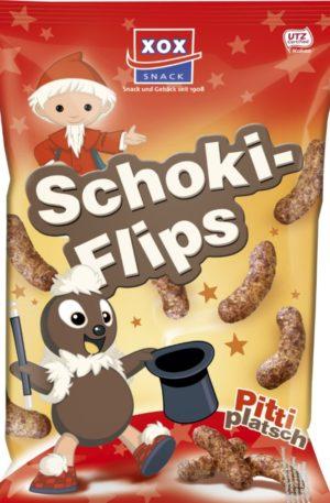 Schoki Flips (Chocolate Puffs) 125g