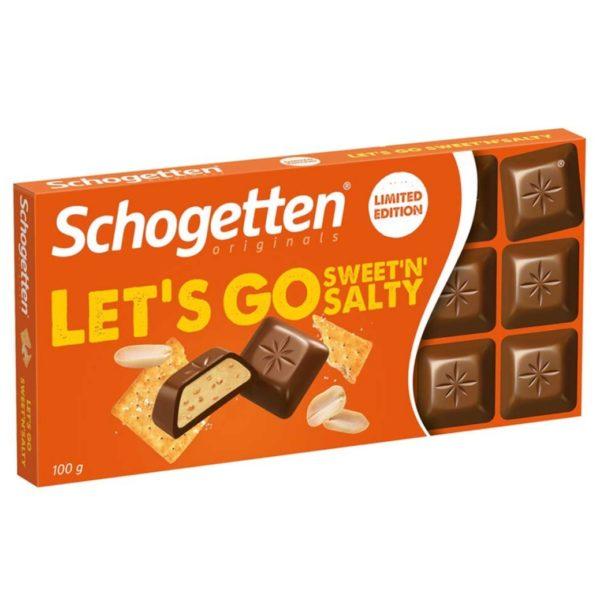 Schogetten Let's Go Sweet and Salty 100g