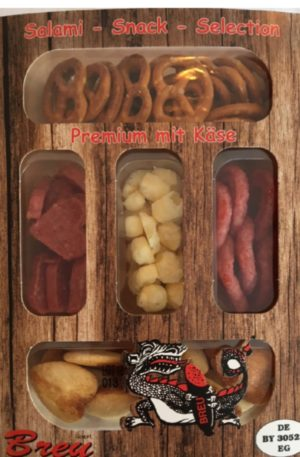 Breu Salami Snack Selection with Cheese 80g
