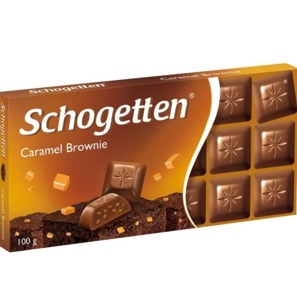 Schogetten Let's Go Caramel Brownie 100g