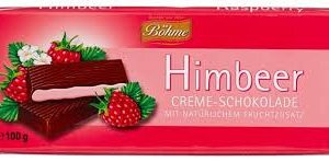 Böhme Himbeer Chocolate Cream Bar 100g