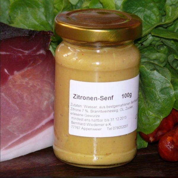 Gourmet Lemon Mustard 100g