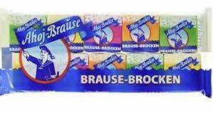 Ahoj Brause-Brocken (Sherbet Cubes) 10 x 8g cubes