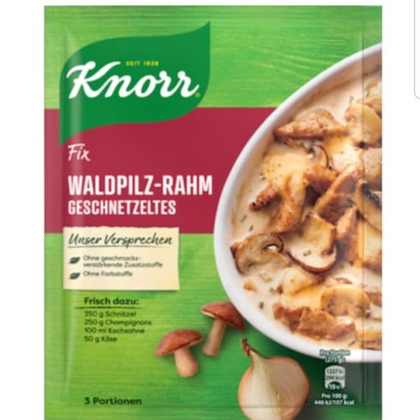 Knorr Forest Mushroom Cream Sauce Fix 40g