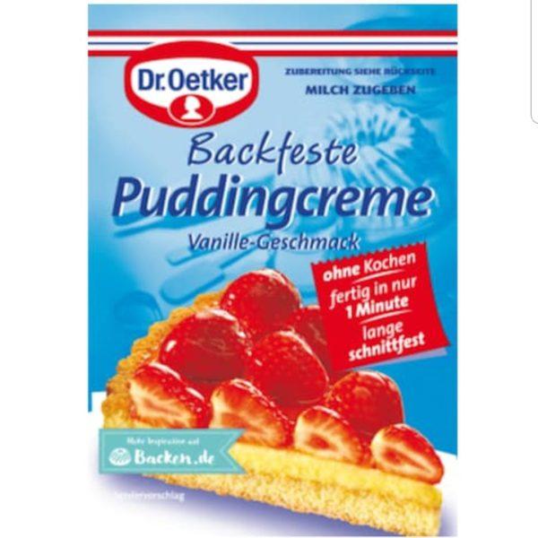 Dr Oetker Puddingcreme 40g