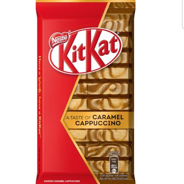KitKat Caramel Cappuccino 112g