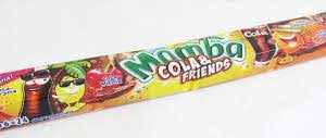Mamba Cola & Friends (Cola and Fruit Flavoured Chewy Candies) 4 X 6