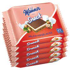 Manner Snack Milk Hazelnut 5 X 25g