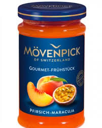 Mövenpick Peach and Passion Fruit Jam