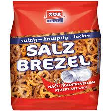 XOX Salt Pretzels 175g