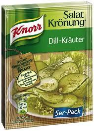 Knorr Salad Seasoning Dill-Kräuter 5 x 9g