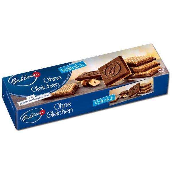 Bahlsen Ohne Gleichen Milk Chocolate Biscuits 125g