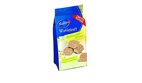 Bahlsen Waffelzeit Lemon Waffle Biscuits 90g