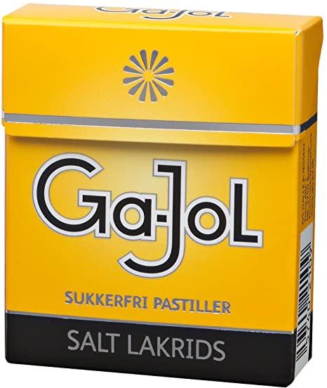 Ga-Jol Sugar Free Salt Liquorice 20g