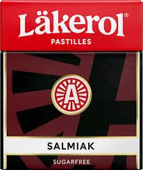 Lakeröl Salmiak Sugar Free Liquorice 25g