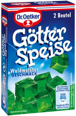 Götterspeise Waldmeister (Woodruff Jelly Mix) 2 sachets each make 500ml