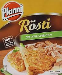Pfanni Rösti (Potato Hashbrown) 400g (2 portions)
