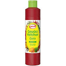 Hela Curry Gewürz Ketchup Delikat 800ml