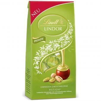 Lindt Lindor Chocolate Pistachio Truffles 137g