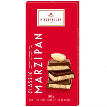 Niederegger Chocolate Marzipan Bar 110g