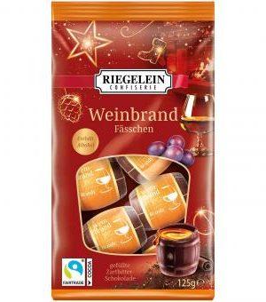Riegelein Brandy Kegs 125g