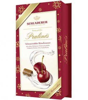 Schladerer Schwarzwälder Kirschwasser Cherry Schnapps filled Chocolates 127g