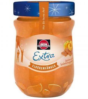 Schwartau Extra Flockenfänger Apricot Jam with Speckulatius Spice 340g