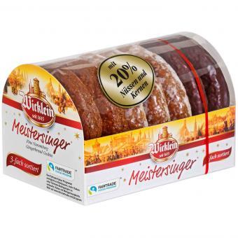 Wicklein Meistersinger Nürnberger Oblaten-Lebkuchen