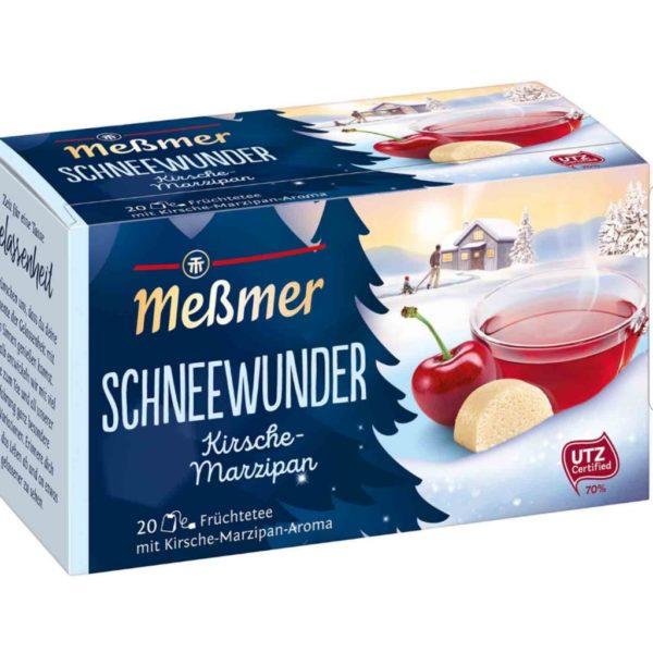 Meßmer Schneewunder Kirsche-Marzipan (Cherry and Marzipan) Tea 20 Bags