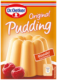 3 X 37g Dr Oetker Almond Pudding