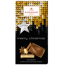Niederegger Merry Christmas Chocolate Bar 110g