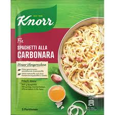 Knorr Fix For Spaghetti Carbonara 38g.