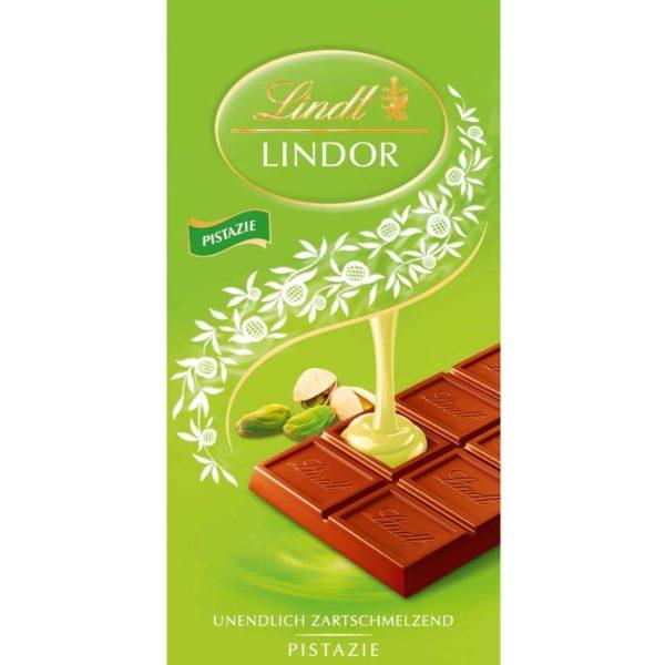 Lindor Pistachio Chocolate Bar 100g