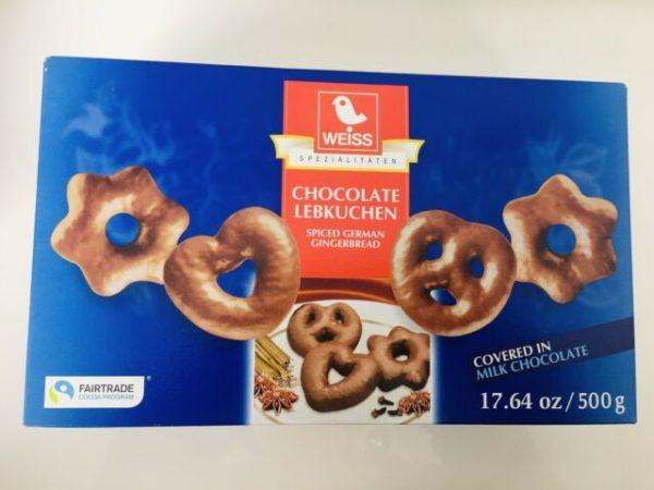 Weiss Chocolate Lebkuchen 500g