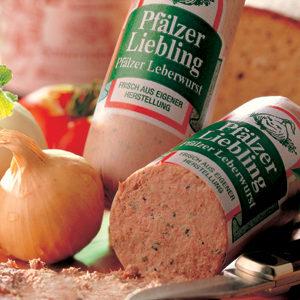 Zweibelleberwurst (Liver Sausage with Onions) 200g
